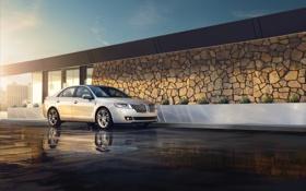 Обои Lincoln, 2012, Hybrid, MKZ