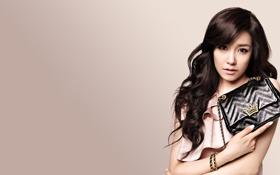 Обои девушка, музыка, азиатка, Tiffany, SNSD, Girls Generation, Южная Корея