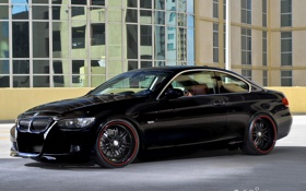 Обои BMW, black, 360 THREE SIXTY FORGED