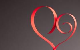 Картинка бумага, фон, розовый, обои, настроения, сердце, wallpaper