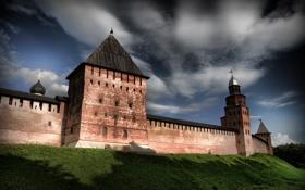 Обои город, обои, башня, кремль, wallpaper, россия, родина