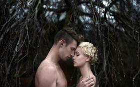 Картинка девушка, любовь, парень, Andrea Peipe, The sound of your heartbeat matches mine