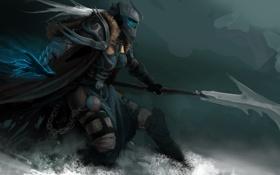Картинка эльф, World of warcraft, wow, death knight