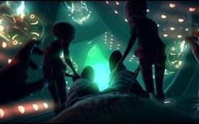 Картинка НЛО, инопланетяне, UFO