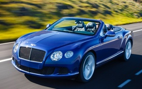 Картинка Bentley, Continental, 2013, Speed Convertible