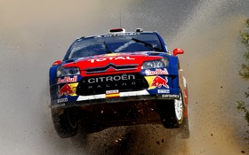 Обои Вода, Гонка, Ситроен, Грязь, Citroen, Брызги, WRC