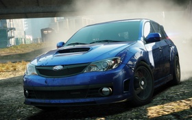 Картинка car, Subaru, Impreza, need for speed, cars, nfs, most wanted