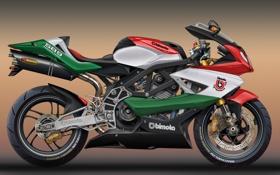 Обои Concept, арт, мотоцикл, Bimota, SB9