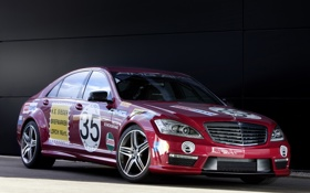 Картинка Mercedes-Benz, sport, amg, S-Klasse, s63, show car, 221