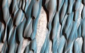 Обои дюны, Марс, поверхность, планета
