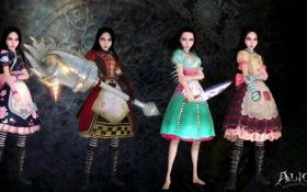 Картинка Алиса, Платья, Alice, Alice Madness Returns, Сирена, Кукольный дом, Червонная королева