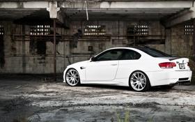 Обои BMW, white, e92