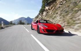 Обои тюнинг, Ferrari, суперкар, 458, Mansory, Spider, мансори