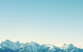 Картинка снег, Горы, красиво, швецария, альпы