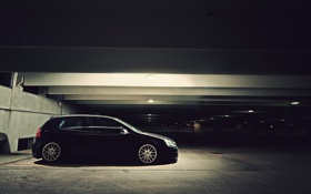 Картинка Volkswagen, стоянка, парковка, cars, auto, остановка, widescreen wallpapers