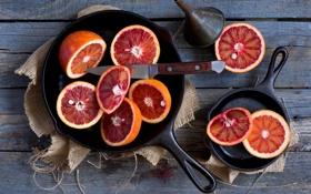 Картинка апельсины, красные, bloody oranges