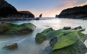 Обои море, камни, скалы