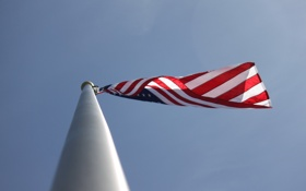 Обои небо, фон, флаг