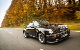 Обои 911, Porsche, порше, Coupe, Turbo, 1989, Limited Edition