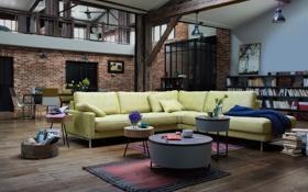 Обои дизайн, мебель, интерьер