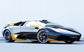 Обои Lamborghini, wallpaper, Hamann, supercar, tuning, Murcielago, LP640