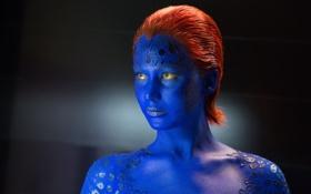 Обои фантастика, мутант, Дженнифер Лоуренс, Мистик, Jennifer Lawrence, X-Men: Days of Future Past, Mystique