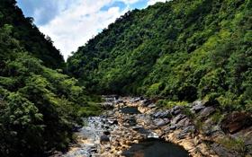 Обои пейзаж, горы, природа, река, фото, Австралия