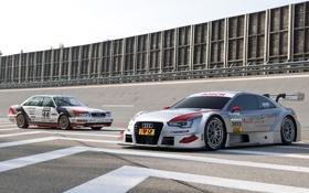 Обои Audi, гоночные болиды, and, ауди, DTM, передок, Coupe