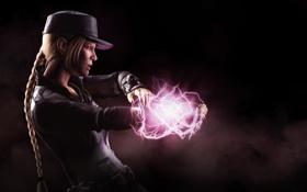 Обои Соня Блейд, Mortal Kombat X, Смертельная битва, Sonya Blade