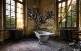 Картинка комната, интерьер, ванна