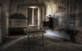 Картинка стол, комната, окно