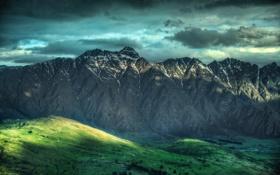 Картинка горы, New Zealand, The Remarkables, Новая Зеландия