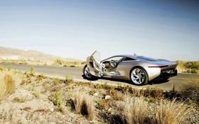Обои auto, Jaguar C-X75 Concept