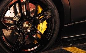 Картинка колесо, cars, auto, литье, LP640, тормозной диск, Lamborghini Murchiélago