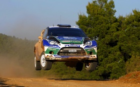 Обои спорт, Ford, Машина, Гонка, WRC, Rally, Fiesta