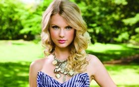 Картинка певица, Taylor, Swift, Alison, на природе