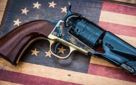 Обои курок, револьвер, фон, ствол, рукоять, оружие