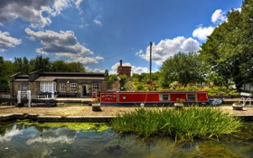 Картинка Англия, Лондон, London, England, Regents Canal