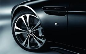 Обои Aston Martin, Авто, Vantage, Черный, Диск, Колесо