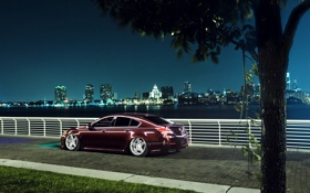 Картинка ночь, город, Honda, Accord, хонда, акура, Acura