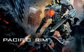 Обои машина, фантастика, фильм, робот, меч, реактор, movie