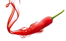 Обои Pepper, Red, Перец, Chili, Hot