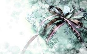 Картинка бумага, ленты, коробка, подарок, бант, vintage, оригами