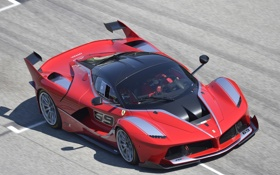 Картинка Ferrari, суперкар, феррари, 2015, FXX K