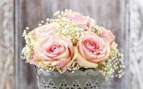 Обои цветы, розы, букет, flowers, bouquet-roses
