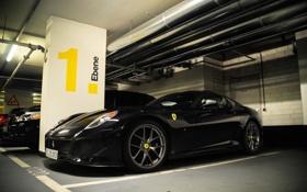 Обои фото, стоянка, cars, auto, GTO, wallpapers, Ferrari 599