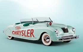 Картинка ретро, автомобили, chrysler