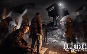 Обои вышка, прожектор, Crytek, Homefront: The Revolution