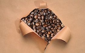 Картинка бумага, кофе, зерна