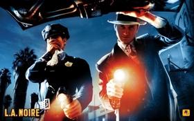 Обои игра, L A Noire, детектив Коул